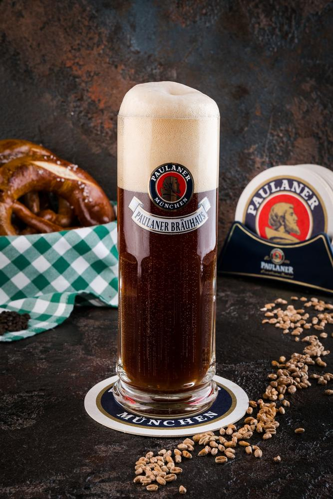 Пиво «Пауланер Браухаус» тёмное